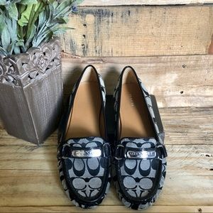 "COACH ""Felisha"" Signature Loafers"